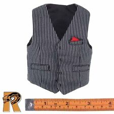 Gangsters Kingdom Heart A Billy - Pin Striped Vest - 1/6 Scale - Damtoys Figures
