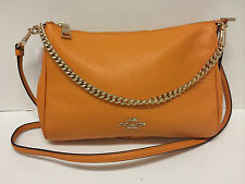 NEW COACH CARRIE CROSSBODY IN PEBBLE LEATHER (clearance) F36666