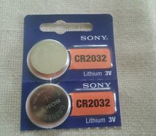 2x CR2032 3V SONY COIN BATTERIES for FORD CAR TRUCK KEYLESS ENTRY REMOTE KEY FOB