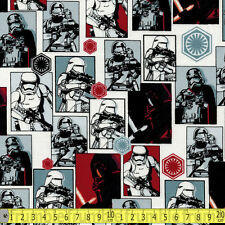 Camelot Fabric Star Wars Force Awakens The Dark Side PER METRE Immortals Classic