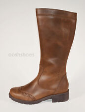 Superfit Girls Brown Leather Zip Boots UK 13 EU 32 US 13.5 00173 RRP £68.00