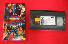 NIGHT RANGER 7 Wishes Tour ORIGINAL Hi-Fi MCA USA 80 min.VHS tape Live Concert