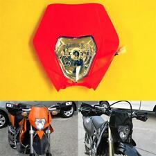 Motorcycle Headlight Fairing Streetfighter Naked MX Super Moto SMR Orange