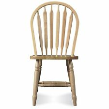 International Concepts Unfinished Windsor Arrowback Chair - 1 Chair