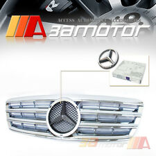 CHROME FRONT HOOD GRILLE for 2001-2007 MERCEDES BENZ W203 C-CLASS C230 C240 C320