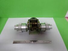 MICROSCOPE PART LEITZ GERMANY ORTHOLUX II MECHANISM STAGE + KNOBS AS IS BN#Y4-04