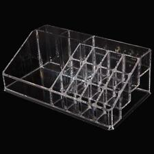 Clear Makeup Case Acrylic Cosmetic Organizer Holder Drawers Jewelry Storage Box