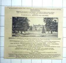 1927 The Estate Of Parkwood, Henley-on-thames, 783 Acres Is For Sale