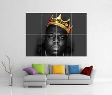 NOTORIOUS B.I.G BIGGIE SMALLS RAPPER GIANT WALL ART PHOTO PRINT POSTER