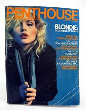 Vintage Penthouse Magazine February 1980 Classic Blondie Cover Debra Harry Pet
