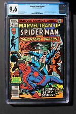 MARVEL TEAM-UP #64 1st Color DAUGHTERS OF THE DRAGON 1977 Netflix TV CGC NM+ 9.6