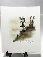 "GRIS GRIMLY - JILL - Official Van Eaton Galleries Signed Print - (2004) 12""x10"""