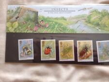ROYAL MAIL STAMPS - INSECTS Pack Number 160 (1985)