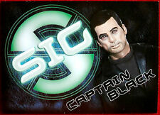 Captain Scarlet - CAPTAIN BLACK - SIG Embossed Chase Card SIG6