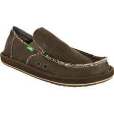 Sanuk Men's Hemp Shoe Olive Size 9