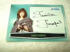 Doctor Who Autograph Card Sheila Steafel A12