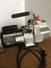YELLOW JACKET 93560 SuperEvac Vacuum Pump 6 CFM NEW FREE SHIPPING +24B+