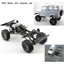 Hot Sale 1:10 Chassis Set +Land Rover D90 Body shell For RC  AXIAL SCX10 RC4WD