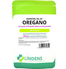 Essential Oil of Oregano 100/Capsules Candida Anti-Fungal and Anti-Biotic