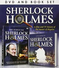 SHERLOCK HOLMES A FILM & TV HISTORY OF THE MASTER OF DISGUISE - DVD & BOOK - NEW