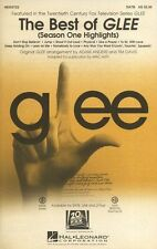 The Best Of Glee Season One Highlights Learn to Sing Vocal Voice Music Book