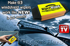 Wiper Wizard Windshield Wiper Blade Restorer + Microfiber Cloth ( 5 Pcs. )