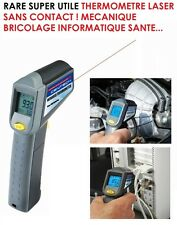 PROMO! THERMOMETRE VISEE LASER 4X4 MECANICIEN AUTO MOTO HDJ GTI M3 M5 GTD TDI TD