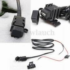 Motorcycle Waterproof USB Mobile Phone Power Supply Port Socket GPS Charger 12V