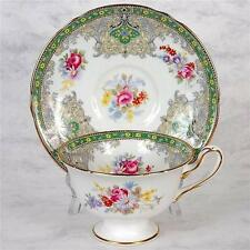 "SHELLEY ""GEORGIAN"" TEACUP & SAUCER"