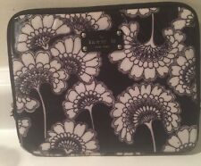 Kate Spade Black And White Flowered iPad Sleeve Tablet Case