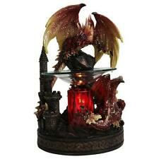 RED DRAGON ELECTRIC OIL WARMER/BURNER/NITELIGHT - NIB