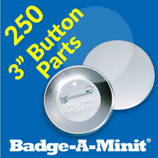 "Badge-A-Minit 250 - 3"" Pin-Back Button Sets #3711"
