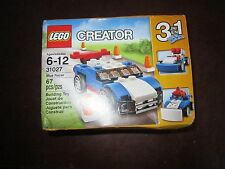LEGO Creator 31027 3 in 1 Blue Racer With Cones Race Car building toy