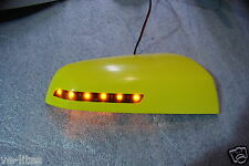 LED Mirror Covers Hazard Yellow for HSV GTS Maloo R8 Senator Commodore VE SSV