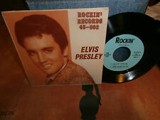 "elvis presley""the hillbilly cat""ep7"".usa.rockin'records.45.002 rare"