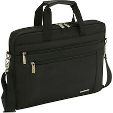 "Samsonite Classic 15.6"" Shuttle - Black Non-Wheeled Computer Case NEW"