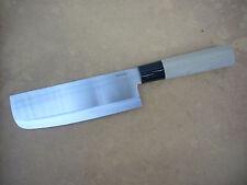 """JAPANESE USUBA NAKIRI CHEF KNIFE FINE EDGE VEGETABLE SLICER 17cm NEW IN BOX 6.5"""""""