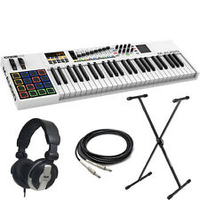 "M-Audio Code 49-Key USB/MIDI Keyboard Controller + Stand + Headphone + 10"" Cable"