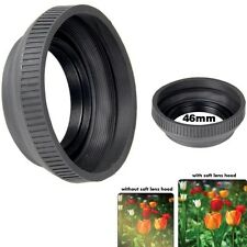 Bower 46mm Camera Lens Collapsible Rubber Lens Hood