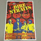 DIRE STRAITS - CONCERT POSTER MILANO ITALY 1981 (A3 SIZE)