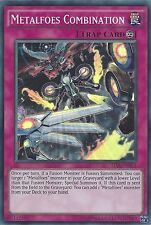 YU-GI-OH CARD: METALFOES COMBINATION - SUPER RARE - TDIL-EN073