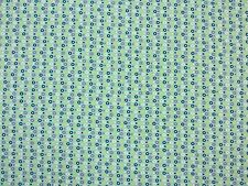 RINGS JERSEY BLUE TEX EX 982 TURQUOISE STRETCH DRESSMAKING FABRIC CHILDREN'S