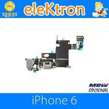 Repuesto Flex Conector Carga Dock Micrófono Audio Jack iPhone 6 4.7 Blanco