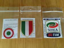 2015-16 JUVENTUS SERIE A & Scudetto & COPPA ITALIA STILSCREEN BADGE Set di PATCH
