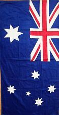 BRAND NEW AUSTRALIA AUSTRALIAN FLAG BEACH/BATH COTTON TOWEL CHRISTMAS GIFT