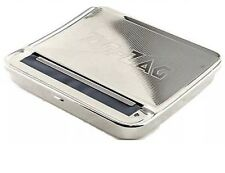 Zig Zag Automatic Cigarette Tobacco Smoking Rolling Machine Case Tin Box BNIB UK