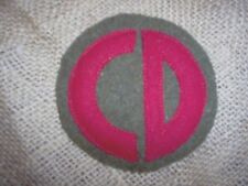 """WWI US Army patch 85th """"Custer""""  Division patch AEF"""