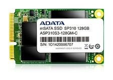 128GB AData Premier Pro SP310 mSATA 6Gb/s SSD (540MB/sec read speed)
