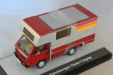 PREMIUM 11527 - VOLKSWAGEN VW T3A plateau camping car rouge  1/43