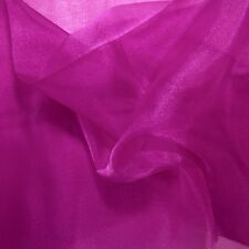 """Crystal Sheer Organza Fabric for Fashion, Crafts, Decorations 58"""" By the Yard"""